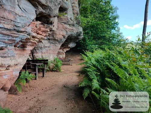 Alte Burg - Felsenwanderweg um Rodalben im Pfälzer Wald