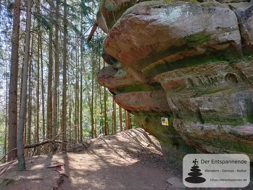Felsenbunker am Köpfel - Felsenwanderweg um Rodalben im Pfälzer Wald