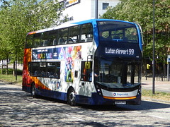 Photo of 11280 / SN69 ZPG - Alexander-Dennis Enviro400 MMC - Stagecoach East - Central Milton Keynes 01Jun20