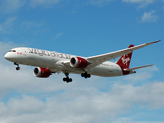 Photo of G-VSPY Virgin Atlantic Boeing 787-9