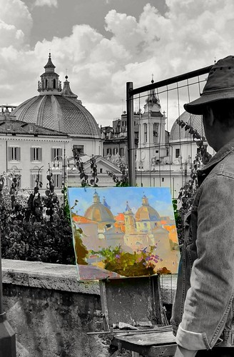 Dipinto di Roma