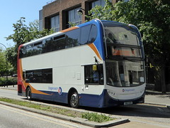 Photo of 10055 / SN13 EEB - Alexander-Dennis Enviro400 - Stagecoach East - Central Milton Keynes 01Jun20