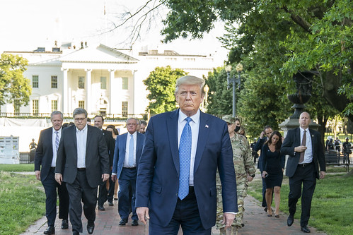 President Trump Visits St. John's Episco by The White House, on Flickr