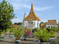 Monument Pagode d'argent (Phnom Penh, Cambodge)