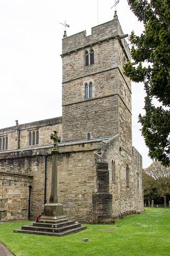 St Brandon's Church, Brancepeth, England