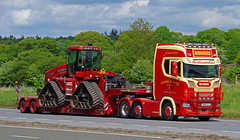Photo of SCANIA - MANNERS TRANSPORT Alnwick