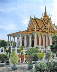 La Pagode d'argent (Phnom Penh, Cambodge)