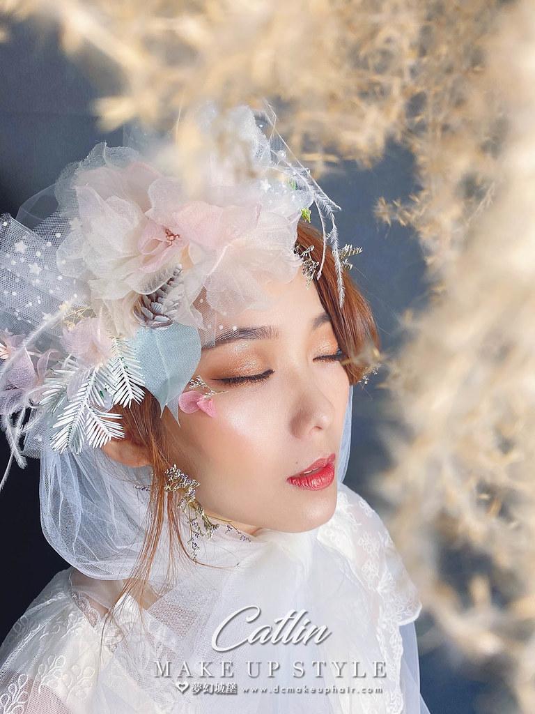 【新秘Catlin】新娘造型創作 / 甜美夢幻