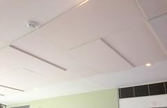 SerenityLite Acoustic Ceilings in Hall