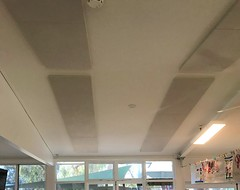 25MM Ceiling Panels Fabric Childcare Sontext