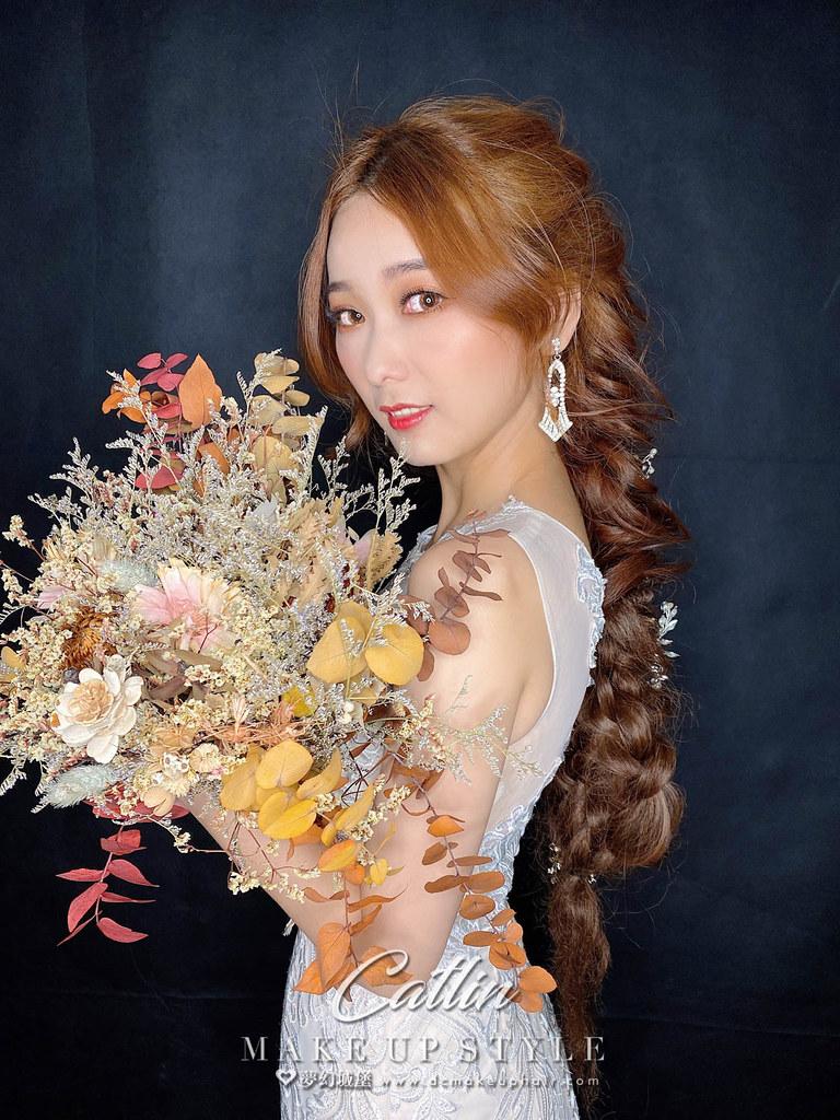 【新秘Catlin】新娘造型創作 / 浪漫仙氣