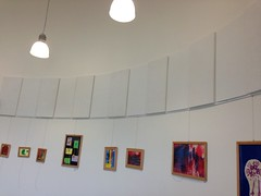 Acoustic Wall Panels in Curved room SerenityLite