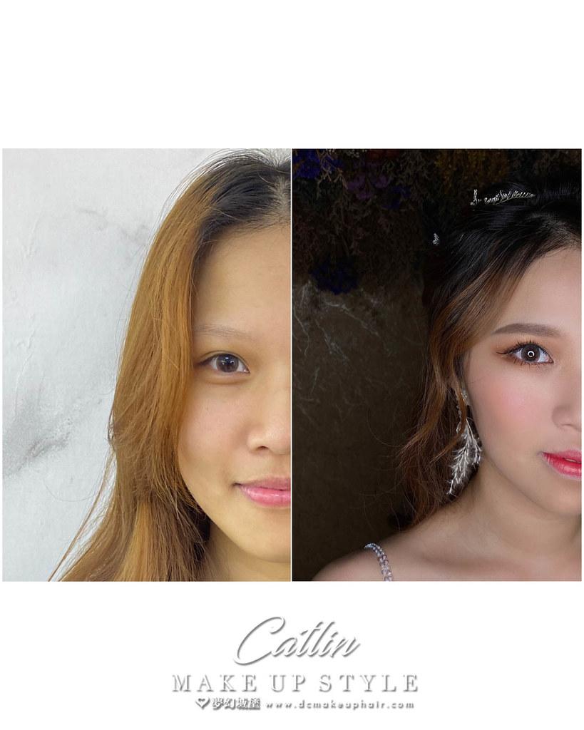 【新秘Catlin】新娘造型創作 / 甜甜小姊姊