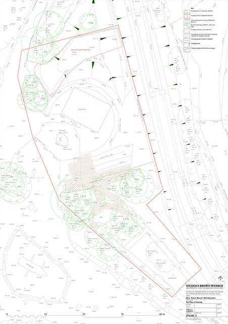 Nemesis Sub-Terra Site Plan as existing