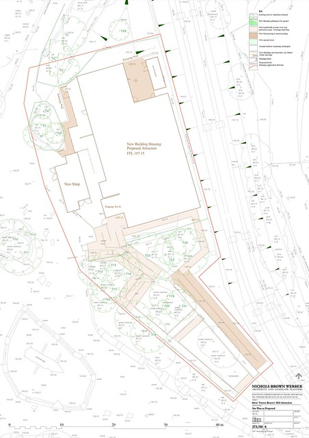 Nemesis Sub-Terra Site Plan as proposed