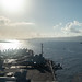 USS Theodore Roosevelt (CVN 71) arrives at Apra Harbor.