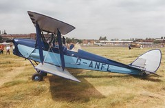 Photo of DH82A Tiger Moth G-ANFL Cranfield 02/07/99