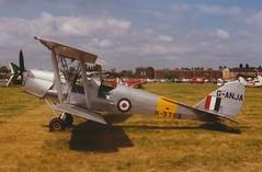 Photo of DH82A Tiger Moth G-ANJA Cranfield 06/07/97