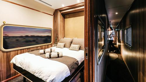 Chairman's Carriage private rail car