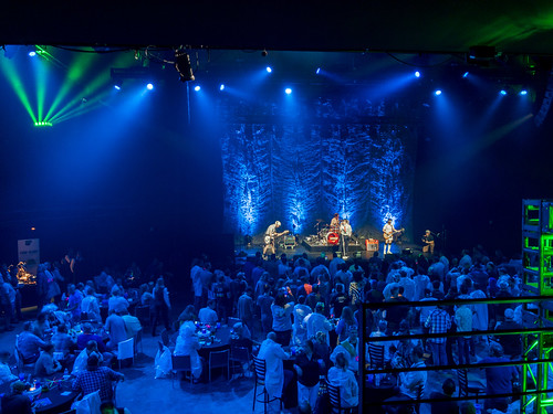 live music at the Moody Theater (ACL Live), Austin, Texas