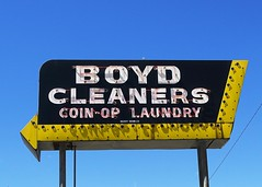 OH, Greenville-U.S. 127(Old) Boyd Cleaners Neon Sign