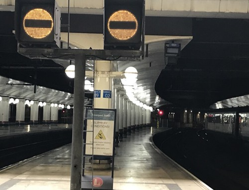 Liverpool Street Station film location platforms