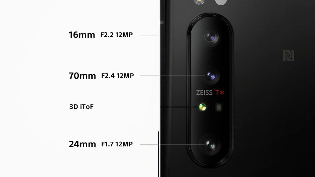 圖說二、Xperia 1 II全新三顆鏡頭皆由ZEISS蔡司光學專屬調教,為手機界帶來前所未見的專業、高速攝影體驗!(2)