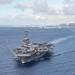 USS Theodore Roosevelt (CVN 71) departs Naval Base Guam.