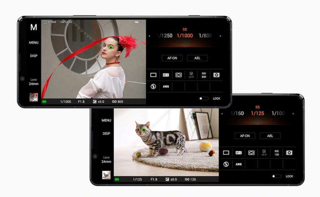 圖說四、領先業界Xperia 1 II再升級,帶來人眼與動物眼即時眼部追蹤對焦