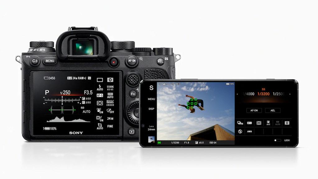 圖說三、Xperia 1 II全新加入Photo Pro專業單眼相機模式,導入Sony α相機使用介面