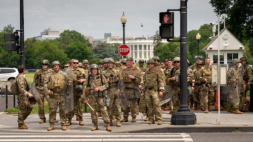 Military in DC, From FlickrPhotos