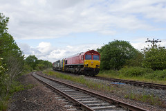 Photo of 66 094 at Stainton Junction, Waverley route, Carlisle.