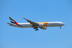 Emirates 777-300ER A6-ECU EXPO 2020 Opportunity Livery