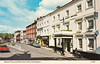 Market Place and White Hart Hotel, Buckingham old postcard late 1970s