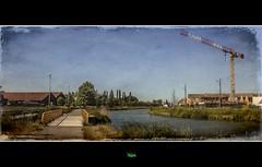 DUNKERQUE / LE CANAL DE BOURBOURG au BANC-VERT