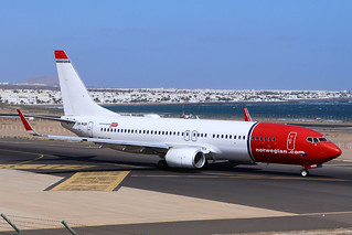 Norwegian Air Shuttle / LN-NGN / B737-8JP(W)