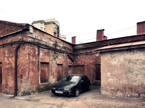Old walls of St. Petersburg ©  Sergei F