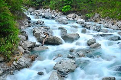 (圖7)前往台中著名景點八仙山森林遊樂區,尋訪美麗的十文溪