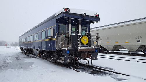 Tioga Pass Private Rail Car, USA