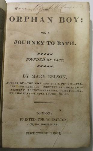 Penn Libraries PR4699.E56 O7 1814 copy 2: Title page