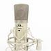 Studio condenser vocal broadcast microphone with shockmount