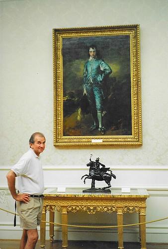 Huntington Library Art Collections & Botanical Gardens ~ San Marino CA ~ Old 35mm Film - Blue Boy