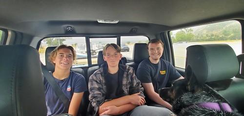 Lake Mead Boys Fishing Trip May 2020