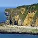 D-Day Cliffs, Normandy, France