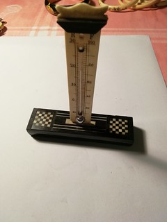 Termometro in avorio