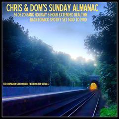 diary #2588: Sunday Almanac: Realtime Spotify Set, May 24th, 2020