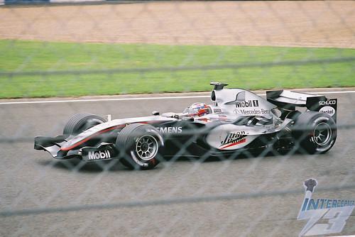 Juan Pablo Montoya, McLaren-Mercedes MP4-20, 2005 British Grand Prix, Silverstone, 8th July
