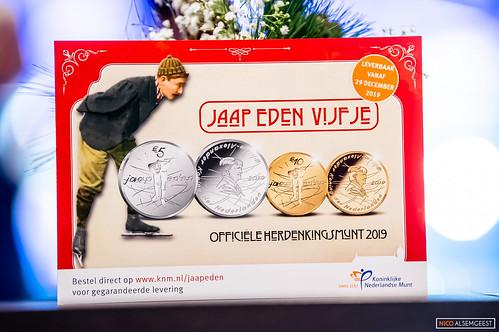 Jaap Eden Vijfje - Dutch Mint