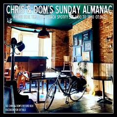 diary #2591: Sunday Almanac: Realtime Spotify Set, June 7th, 2020