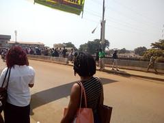 circulation fluide sur le pont de Madina après ''déménagement'' des vendeurs
